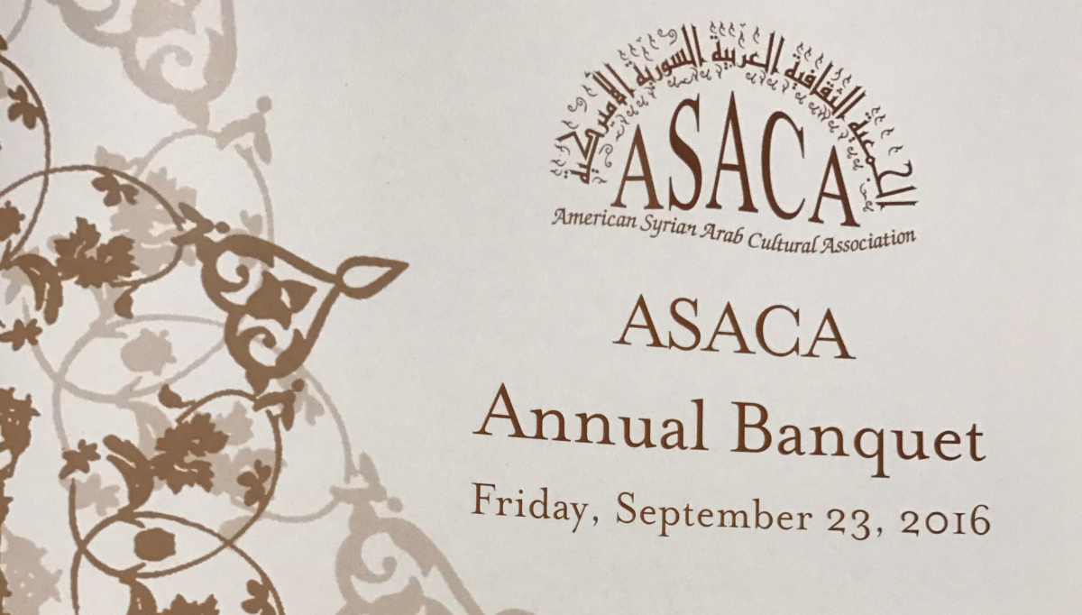 ASACA Banquet 2016 Celebrating 20 Years of Community Service